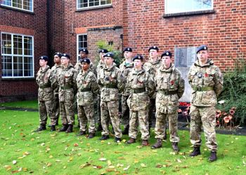CCF at Ewell Remembrance Service