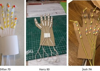 Our Young Scientists Create Robotic Hands