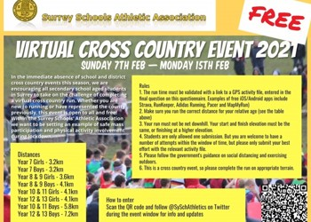 Virtual Cross Country Event