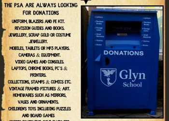 Donations to the Glyn PSA