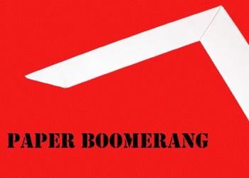 Paper Boomerangs!