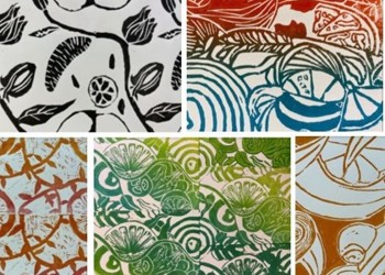 Highly Successful Lino Prints