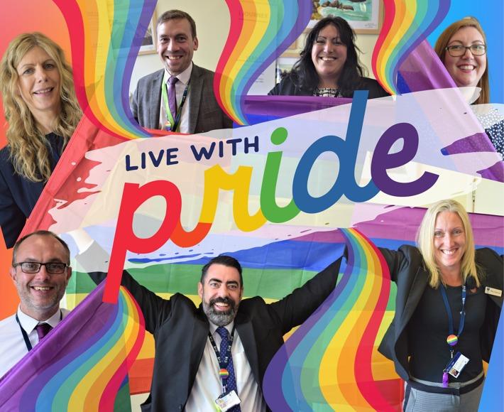 Rainbow Colorful Pride Vibrant Pop Hoodie